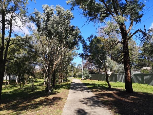 CBR Cycle Route C5, Aranda bike path, Aranda, Canberra