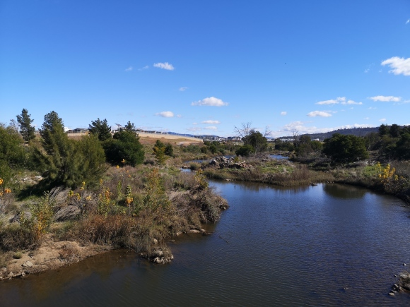 Molonglo River, Coombs, Molonglo Valley, Canberra