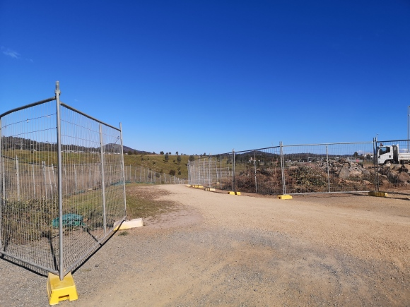 Building site, Coombs, Molonglo Valley, Canberra