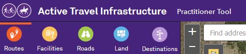 Active Travel Infrastructure Practitioner Tool https://activeinfrastructure.net.au/