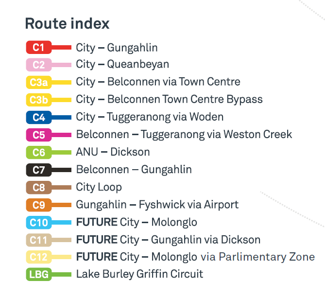 CBR Cycle Routes index, Active Travel Infrastructure Practitioner Tool