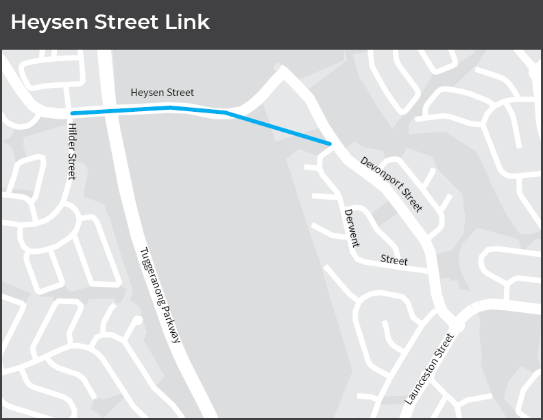 Heysen Street Link, ACT Government