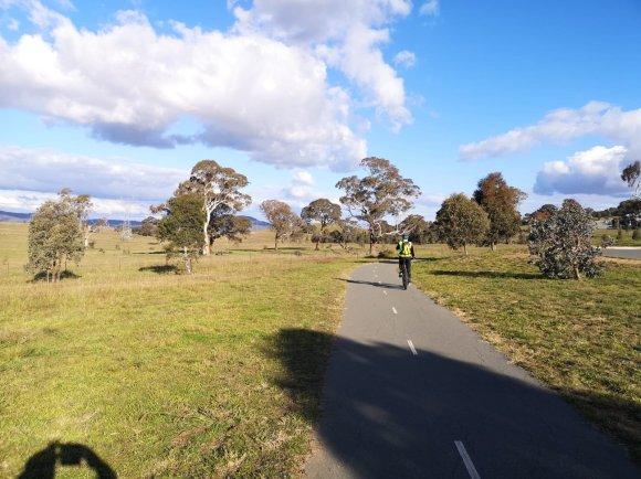 Gungaderra Grassland Nature Reserve, Crace bike path, Gungahlin, Canberra