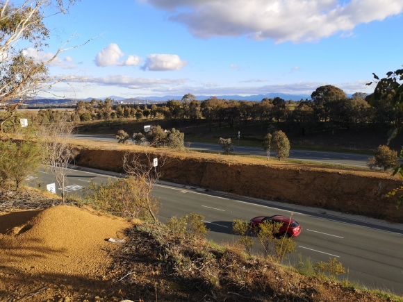 Canberra Centenary Trail, Barton Highway, Gold Creek, Canberra
