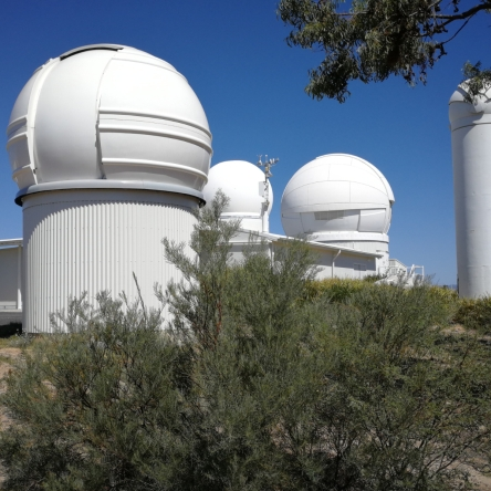 The Mount Stromlo Observatory (MSO), Mount Stromlo Forest, Western Canberra