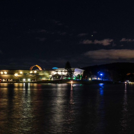 National Museum and Black Mountain looking across West Basin, Lake Burley Griffin, ACT, Australia,Photo by Rainer Busacker CC BY-NC-ND 2.0