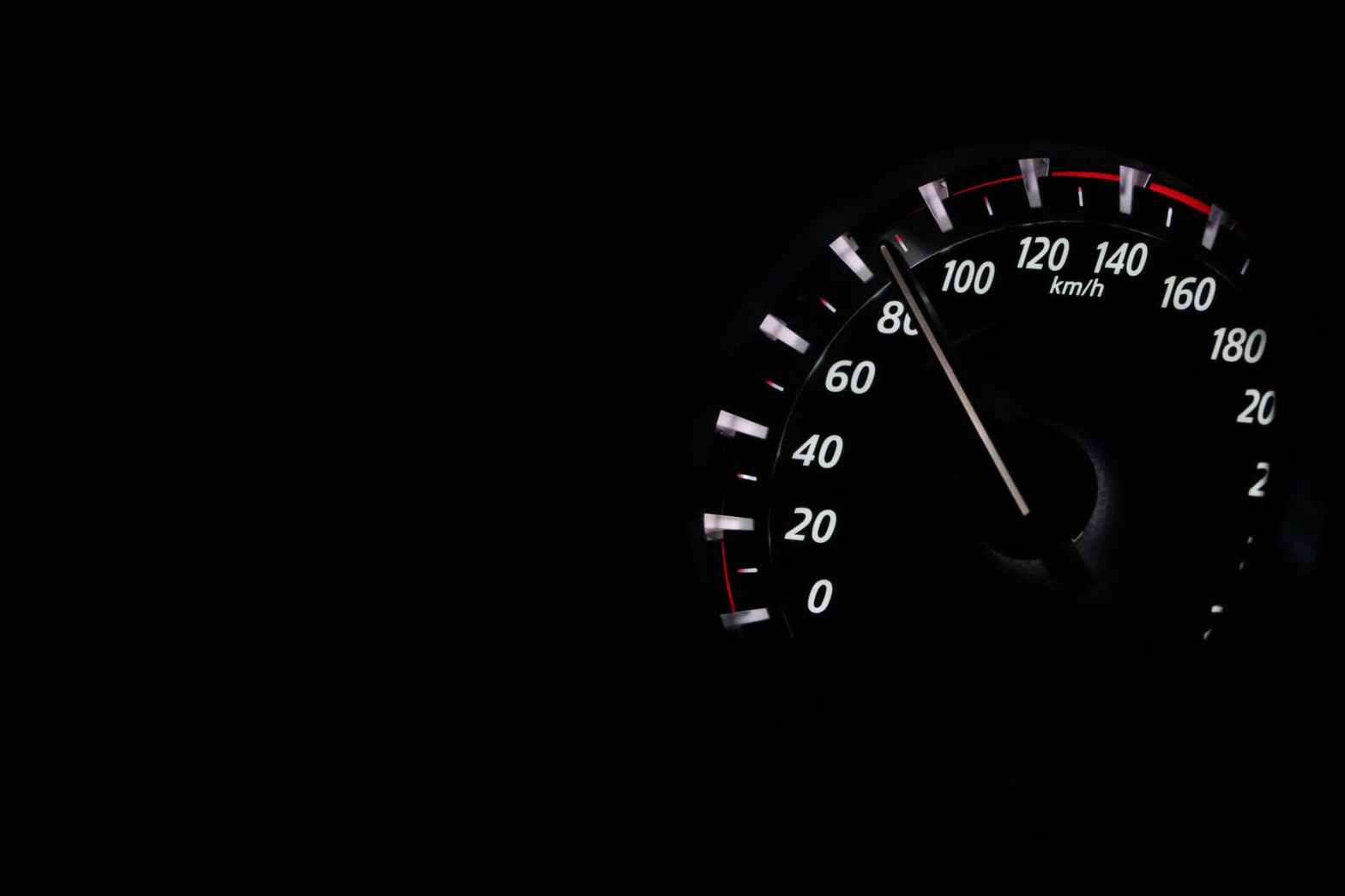 Speedometer showing 80 km/h, Photo by Pixabay on Pexels.com