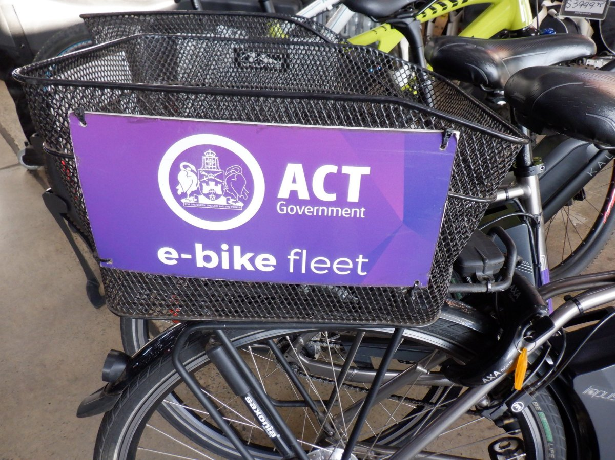 ACT Government electric bike