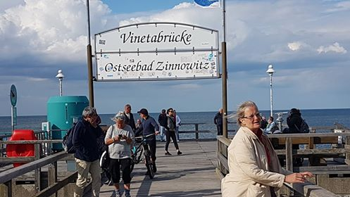 Bike holiday in Usedom by Rolf Stahnke, Ostseebad Zinnowitz