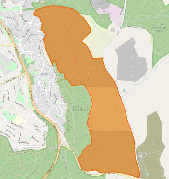 Isaacs Ridge Nature Reserve (2662020), Canberra Nature Park