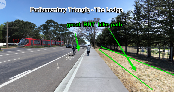 Parliamentary Triangle - The Lodge, Light Rail Stage 2A. ACT Government