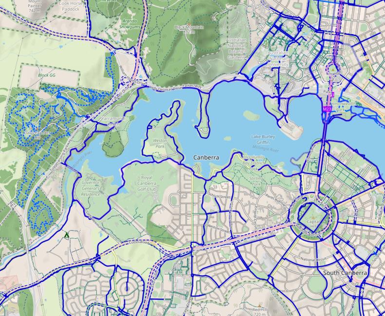 CyclOSM, standard view. CyclOSM v0.3.6 | Map data © OpenStreetMap contributors