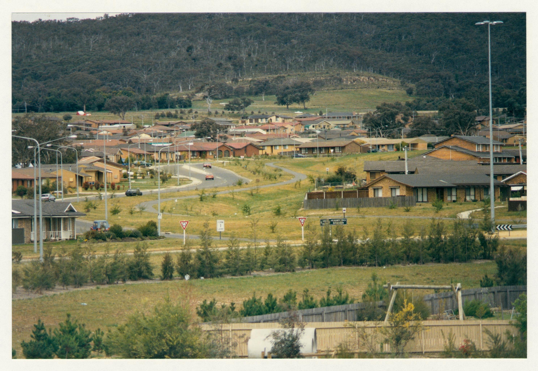 Gilmore feeder path adjacent to Heagney Crescent. c1989