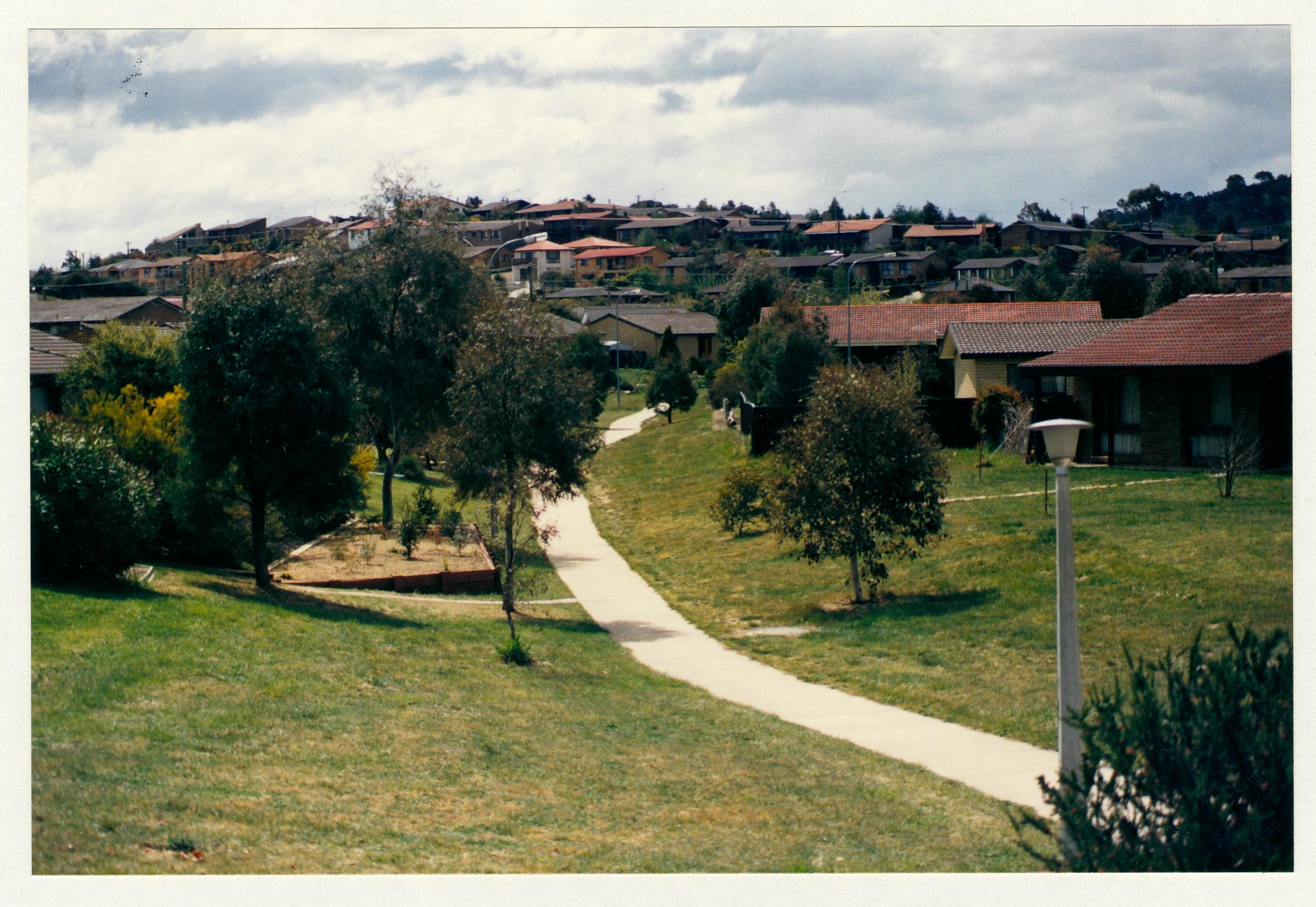 Gowrie feeder path from Isabella Drive. c1989