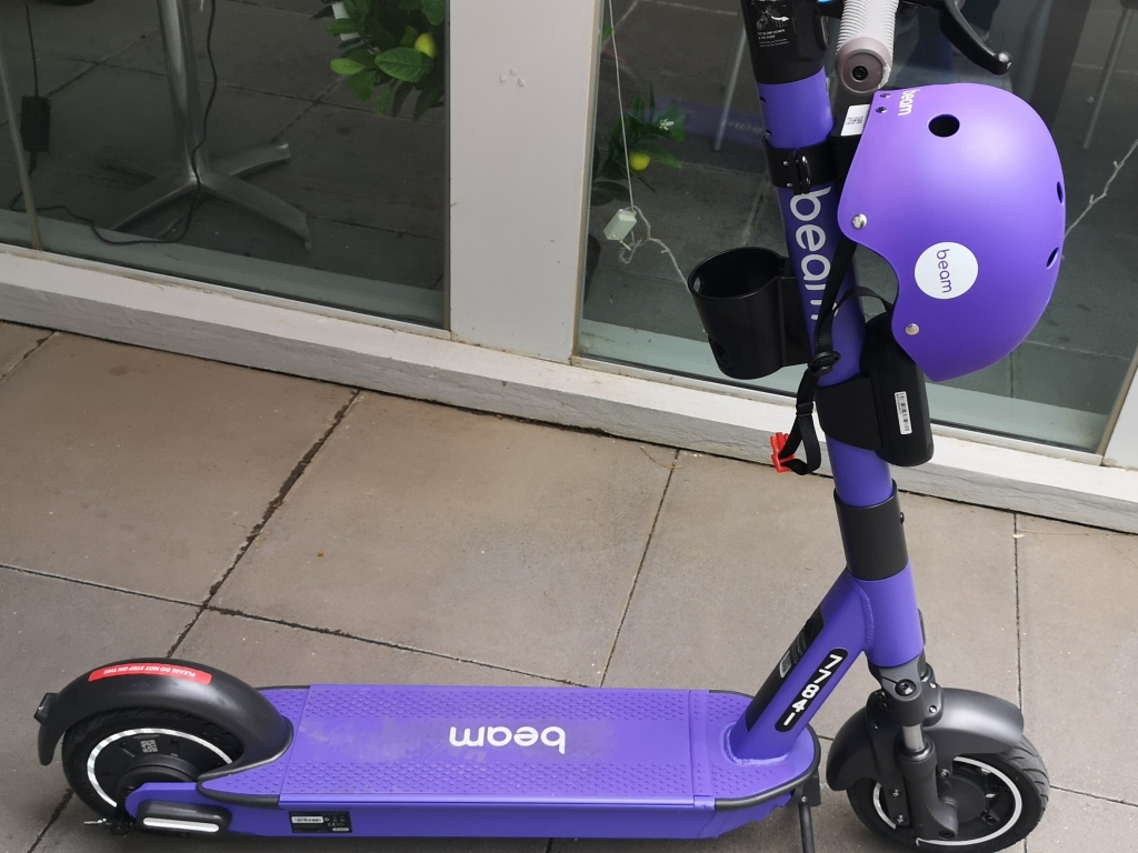 beam electric scooters, October 2020