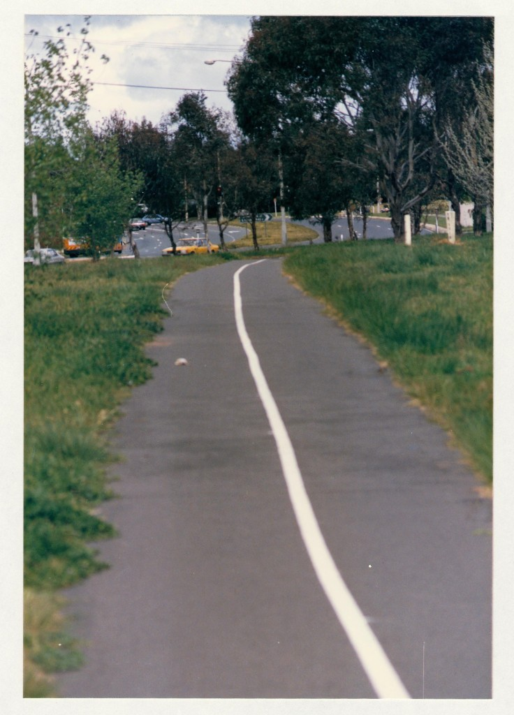 Melrose Drive looking south. c1989