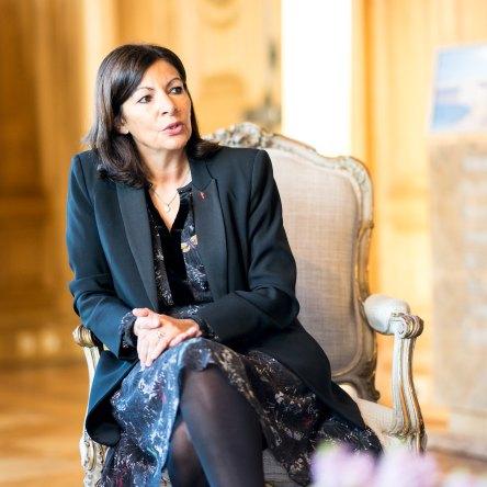 Anne Hidalgo, Mayor of Paris