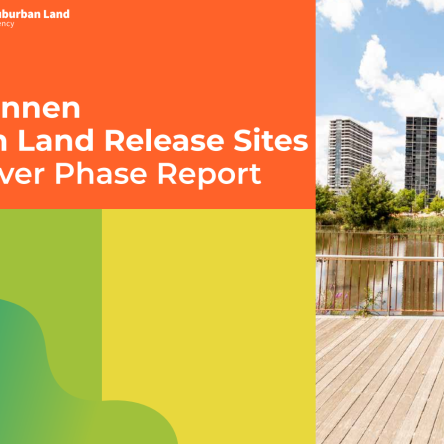 Belconnen Urban Land Release Sites Discovery Phase Report