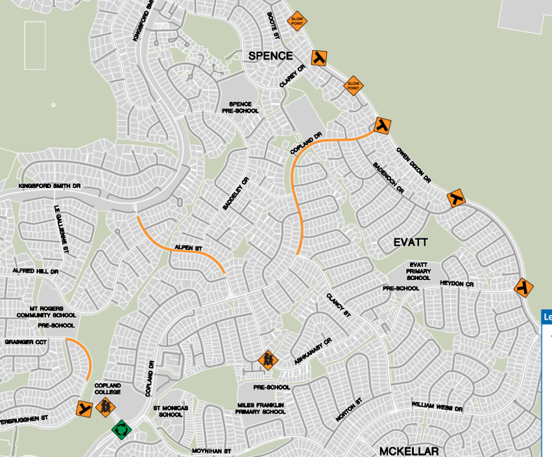 Evatt Residential street improvements, ACT Government, February 2019