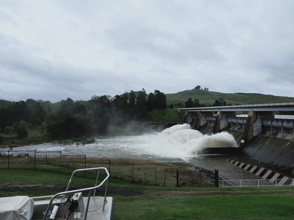 Scrivener Dam on 22 March 2021