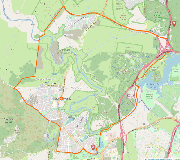District of Molonglo Valley (3337649)