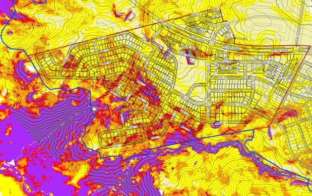 gradient analysis Macnamara Ginninderry