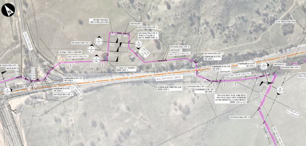Molonglo 132KV Transmission Line Relocation Project - Civil Construction Services, Tender SL200311, accessed 12 June 2021