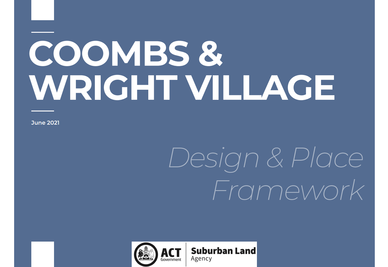 Coombs and Wright Village Design and Place Framework
