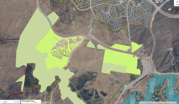 environmental offsets Noth Molonglo Valley