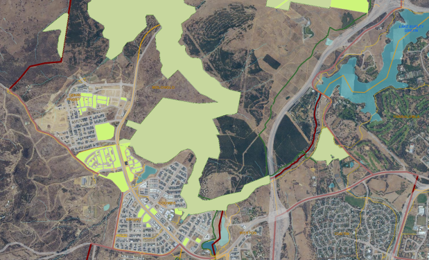 environmental offsets South Molonglo Valley