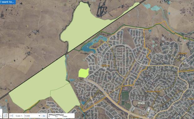 environmental offsets West Belconnen