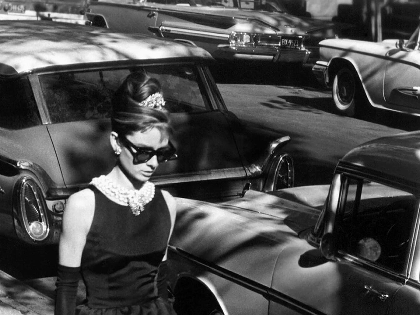 """Troubled call girl Holly Golightly in Blake Edwards' """"Breakfast at Tiffany's,"""" based on the novella by Truman Capote."""