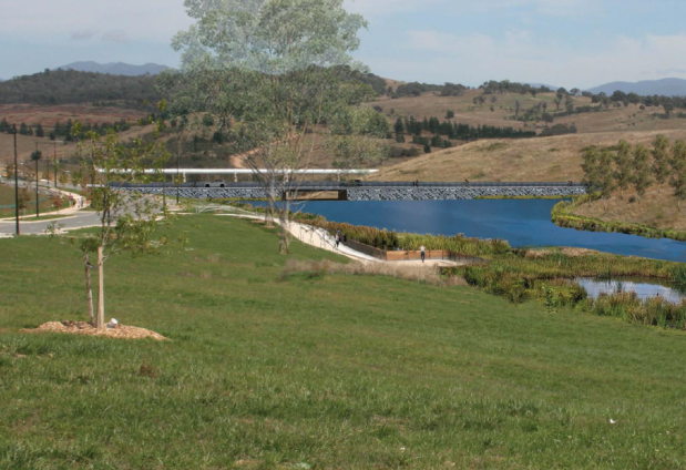 Deep Creek Pond, EIS, Whitlam, Molonglo Valley, 2021, 1.
